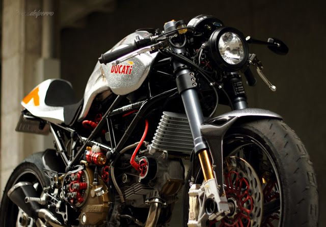2013 Ducati Silver Shotgun by Radical Ducati - found on Racing Cafe