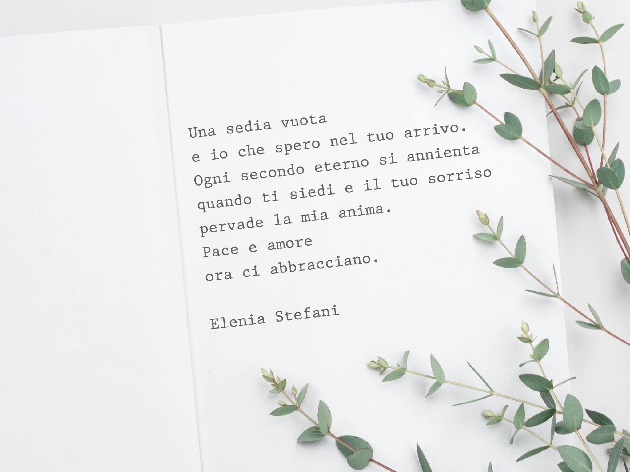 Emozioni Sentimenti Poesia Inediti Elenia Sensazioni Sedia