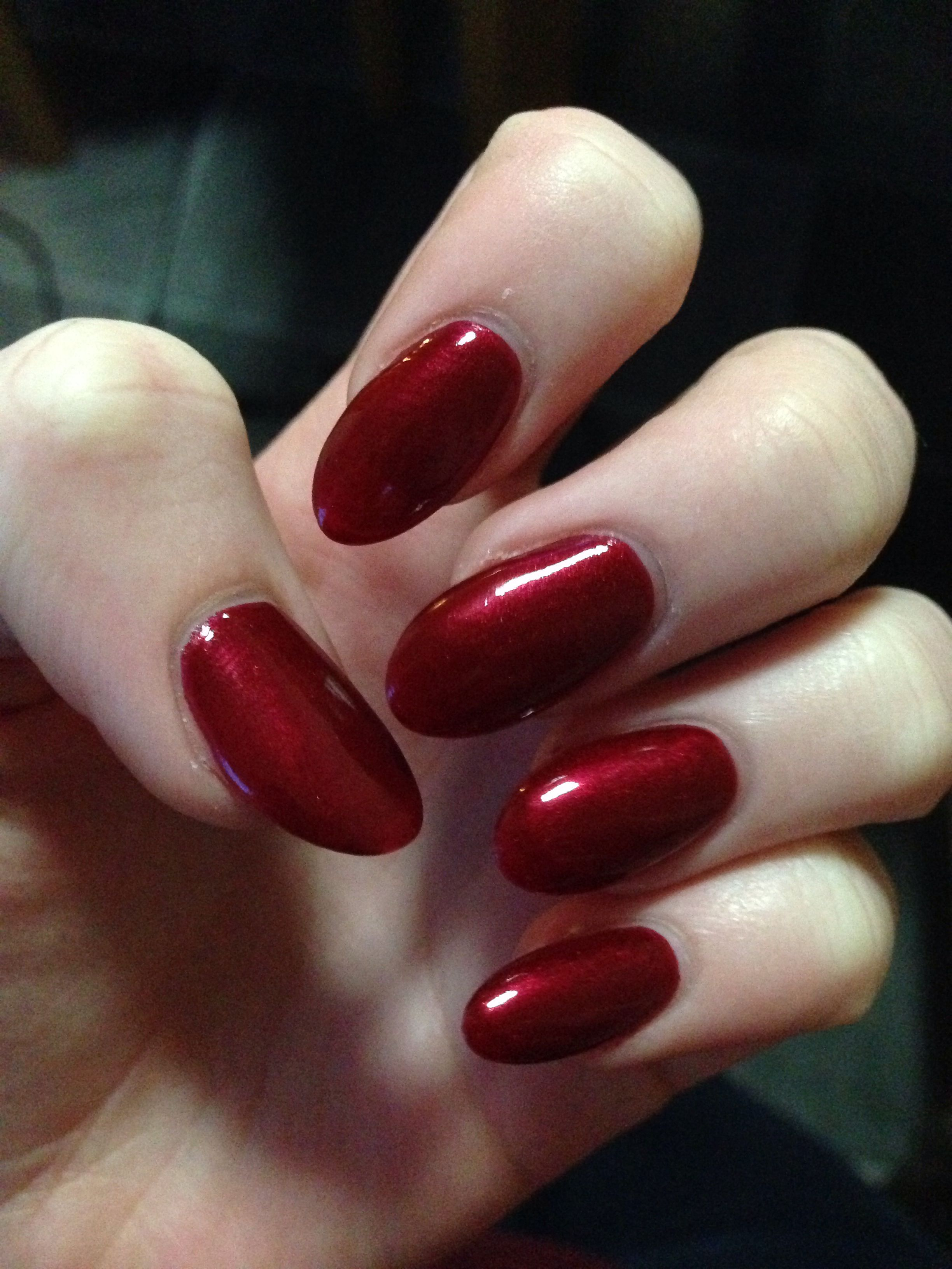 40 Classic Red Nail Art Designs  inkyournailcom