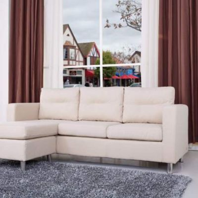 Fine Detroit Convertible Sectional Sofa And Ottoman In Beige Dailytribune Chair Design For Home Dailytribuneorg