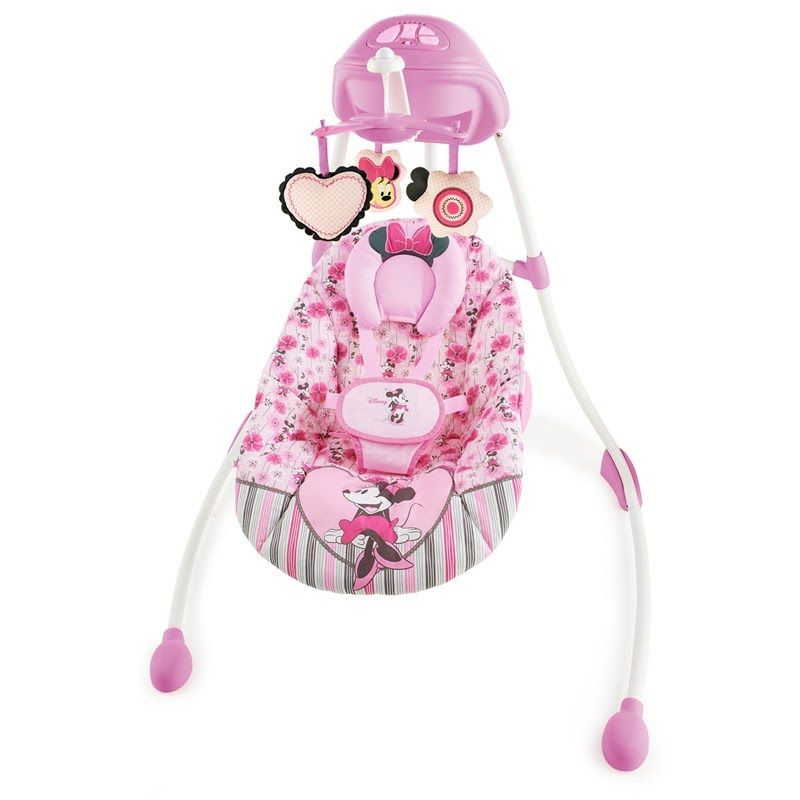 Minnie Mouse Precious Petals Swing 341143670   Baby Swings ...