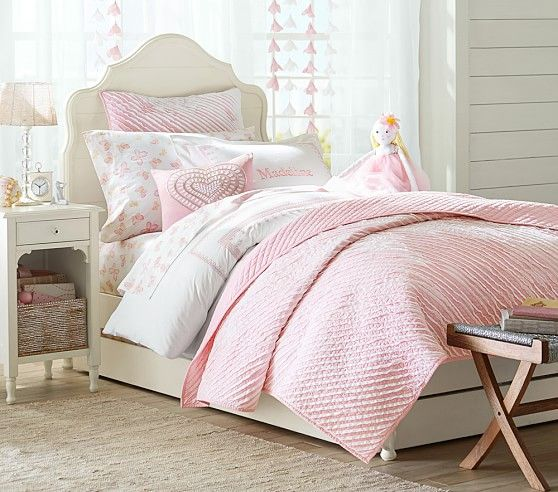 Juliette Bed | Pottery Barn Kids | girls room | Pinterest
