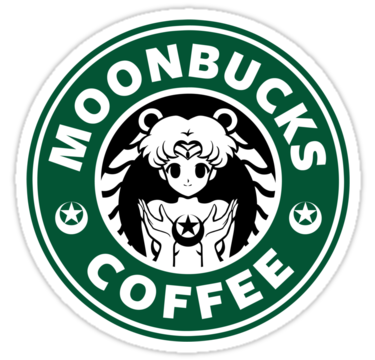 'Moonbucks Coffee' Sticker by Ellador in 2020 Sailor