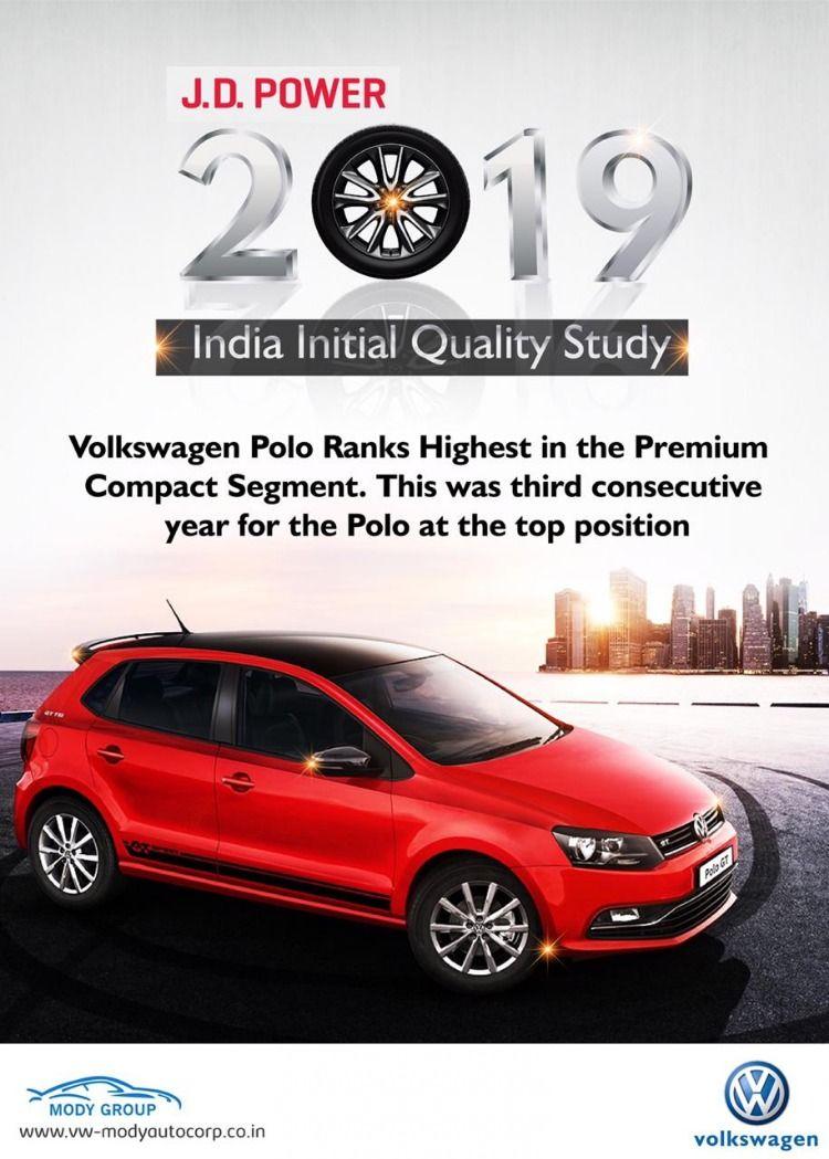 Jd Power Awards 2019 Volkswagen Polo 2019 Volkswagen Dealers