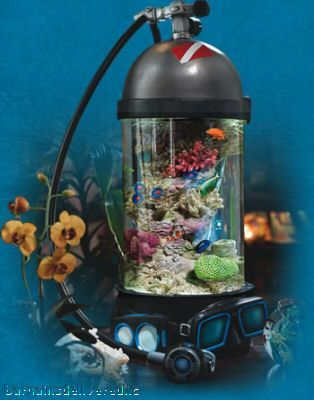 Scuba Nano Tank Scuba Tank Aquarium Fish Tank Saltwater Aquarium Fish