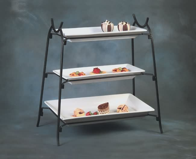 3 Tier Wrought Iron Stand Is14 Wrought Iron Wrought Tiered Stand