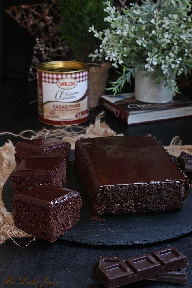 Delicia De Chocolate Mis Dulces Joyas Receta Bizcocho Chocolate Tarta De Chocolate Facil Glaseado De Chocolate