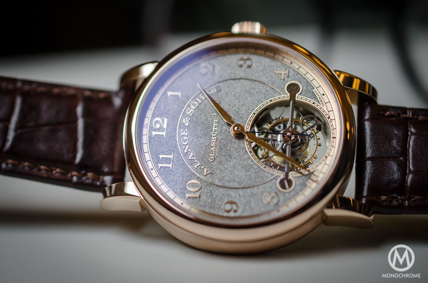 Hands-on With My Rose Gold A. Lange & Sohne 1815 Tourbillon Watch Replica -  Top Replica Watches For Sale Online
