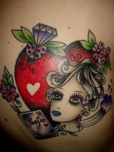 My Amanda Toy Tattoo