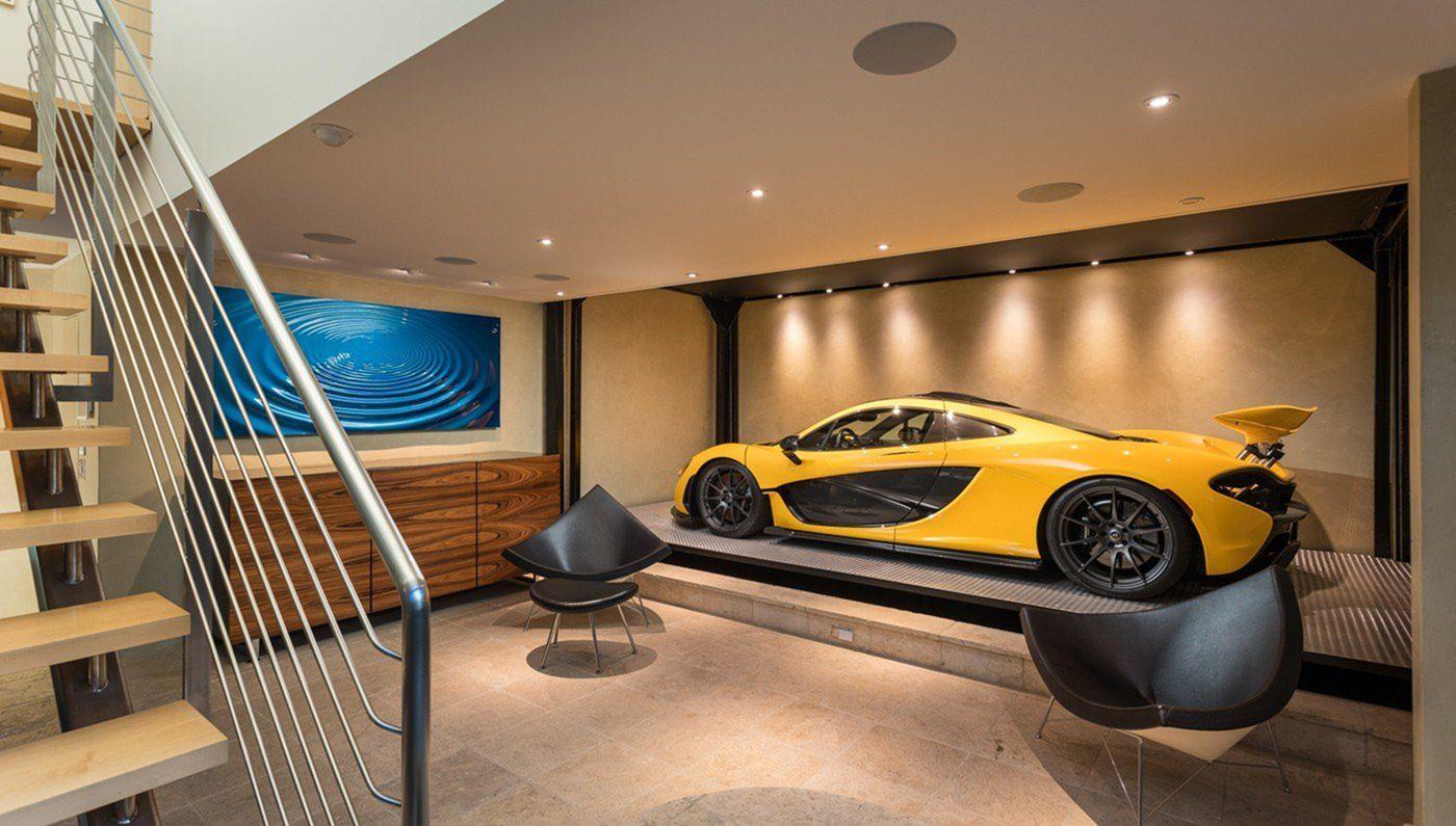 25 Super Cool And Modern Car Garage Design For The Safety Of Your Beloved Car In 2020 Garage Design Car Garage Luxury Garage