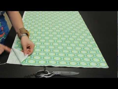 ▶ Learn to Sew: How to Lay Out Your Fabric - YouTube