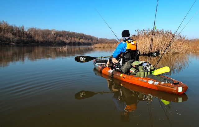 Fishing With A Friend In Water Kayak Fish Writer Jeff Little Had Revelation About What Makes Good Winter Angler Focus