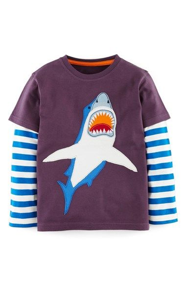 Mini Boden Big Creature Long Sleeve T-Shirt (Toddler Boys, Little Boys & Big Boys) available at #Nordstrom
