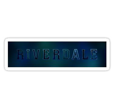 Riverdale Logo Sticker By Ketuuzh Riverdale Logo Sticker Stickers
