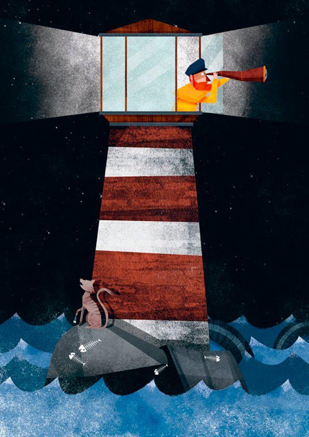 Las ilustraciones vectoriales texturizadas de Nicolás Aznárez | TodoGraphicDesign