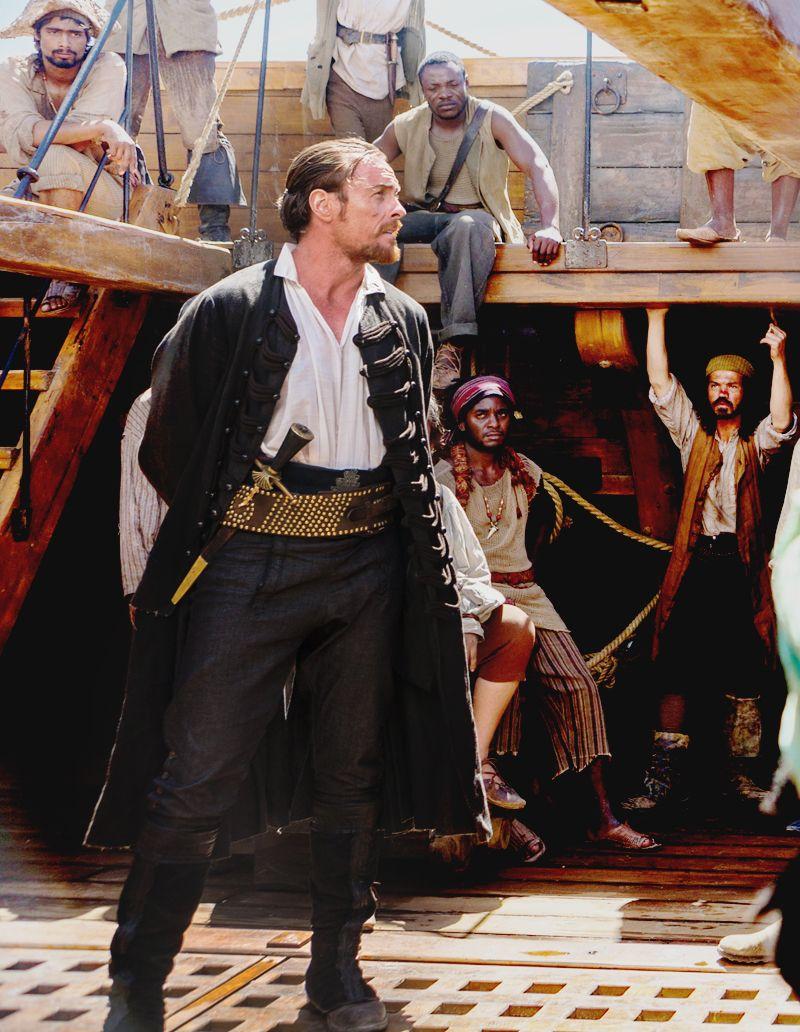 Black sails s3 pirate captain flint leather coat - Toby Stephens As Captain Flint Black Sails