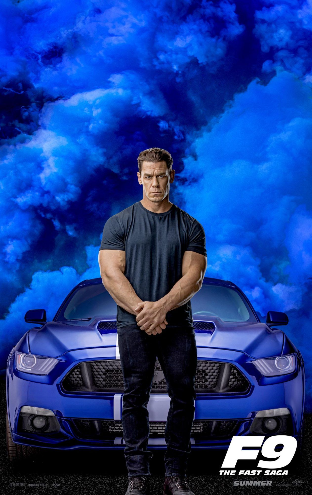 Vin Diesel, John Cena bring the smoke in 'Fast & Furious 9' posters in 2020  | Movie fast and furious, Fast and furious, Free movies online