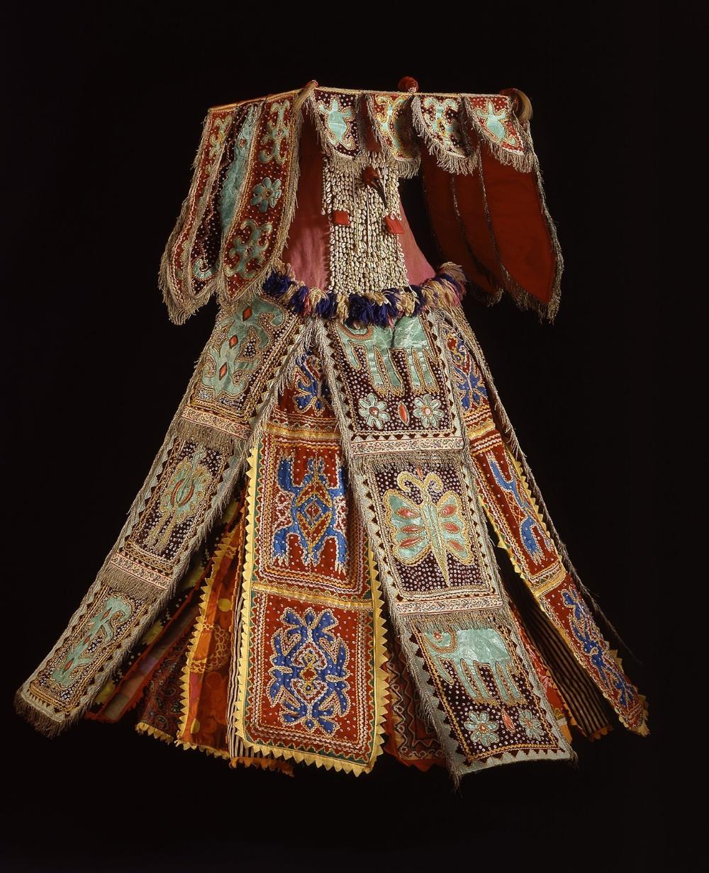 Egungun Masquerade Costume Culture: Yoruba People