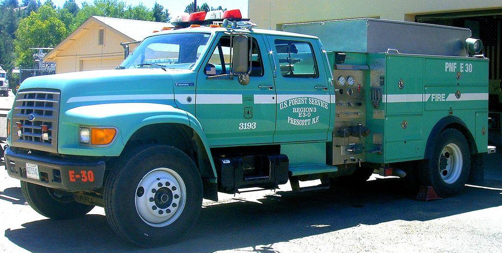 Us Forest Service Brush Truck Brush Truck Forest Service And - Us Forest Service Fire Maps For Virginia