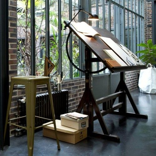 18 Drafting Tables In Interior Designs Interiorforlife Com Drafting