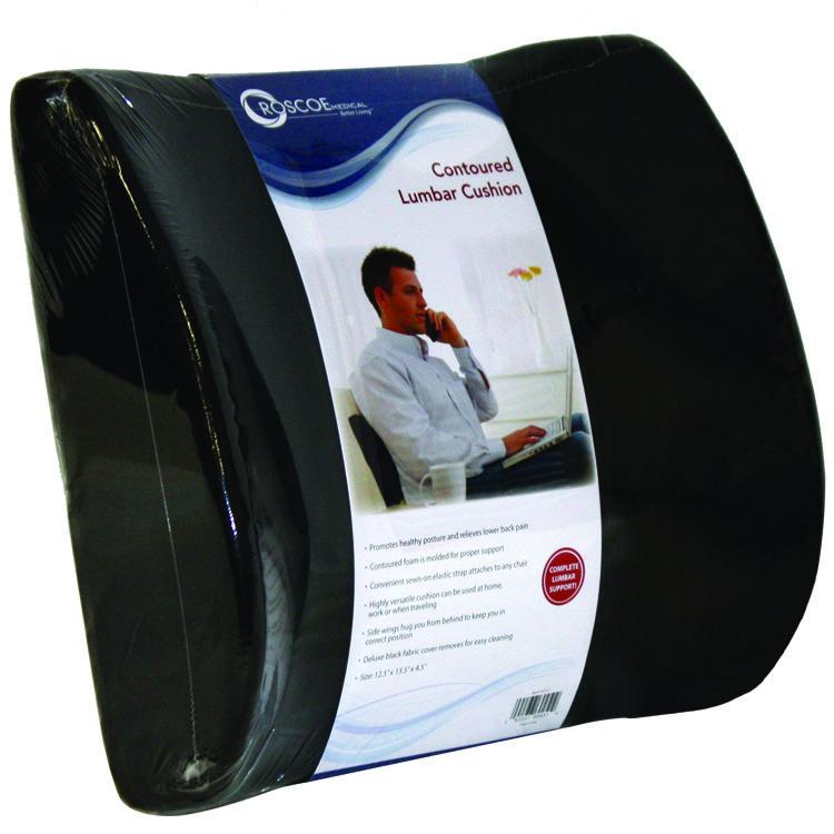 Contoured lumbar back cushion lumbar cushions office