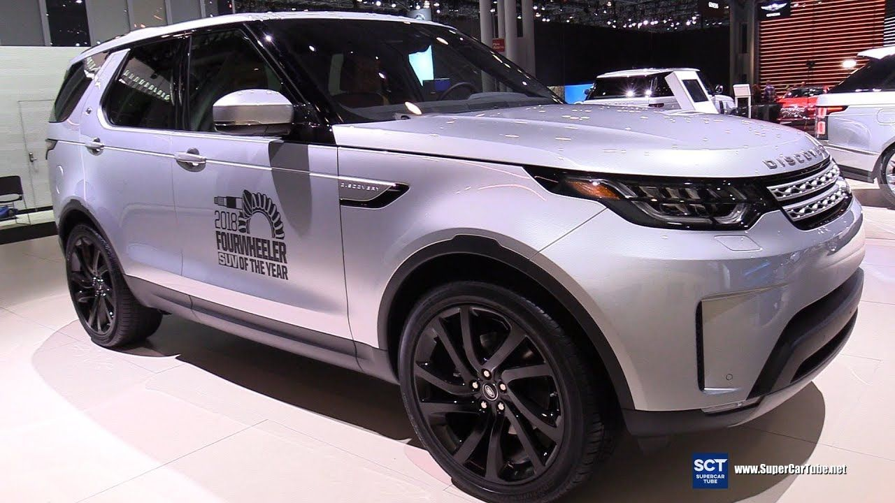 2018 Land Rover Discovery HSE Td6 Exterior Interior