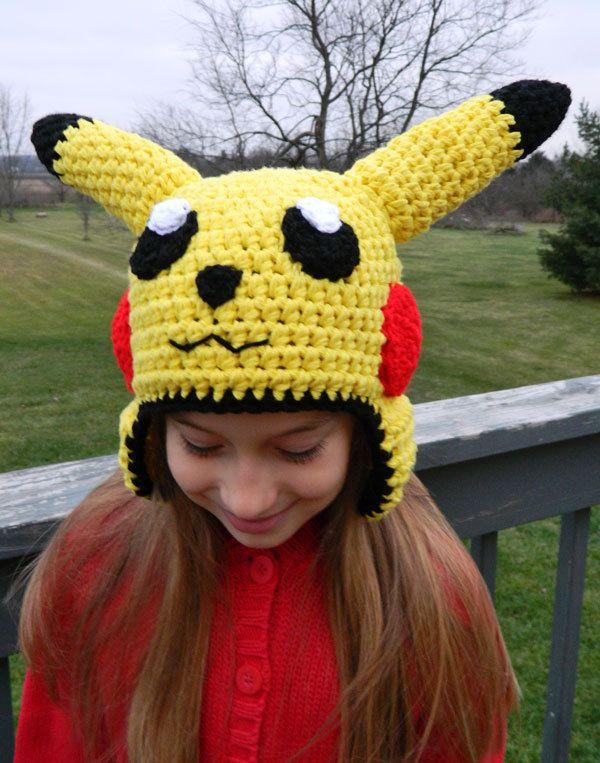 Custom Crochet Pokemon Pikachu Crochet Hat. $30.00, via Etsy ...