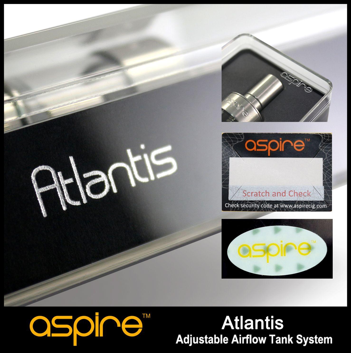 Aspire Atlantis Security Code Check Vape Atlantis Aspire