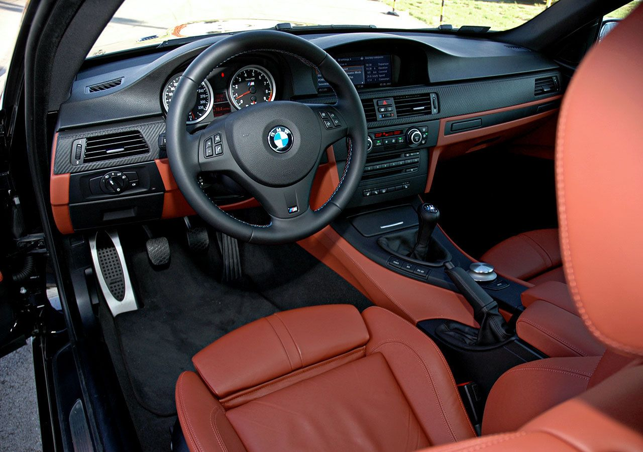M3 Extended Fox Red Novillo Leather And Carbon Dash Stunning