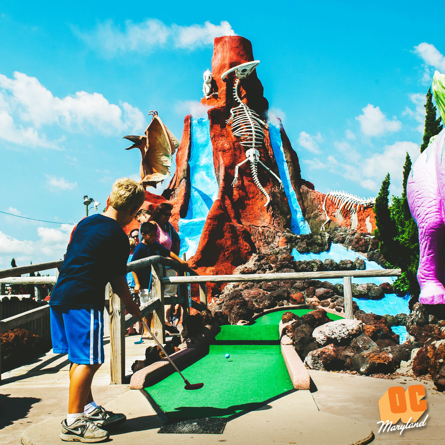 Mini Golf in Ocean City MD minigolf summer