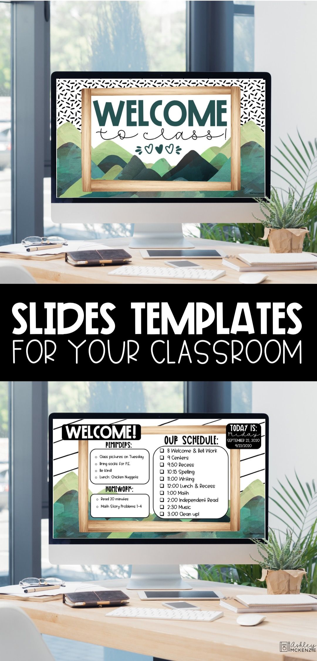 Google Slide Templates for the classroom.