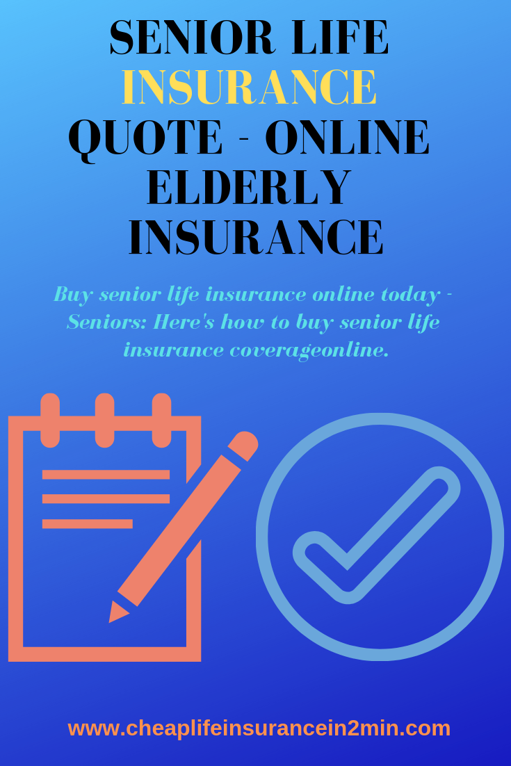 AARP Senior Life Insurance Quote Life insurance quotes