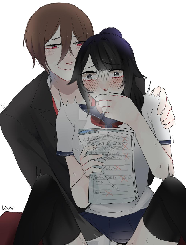 from Aydan manga boy touching girl