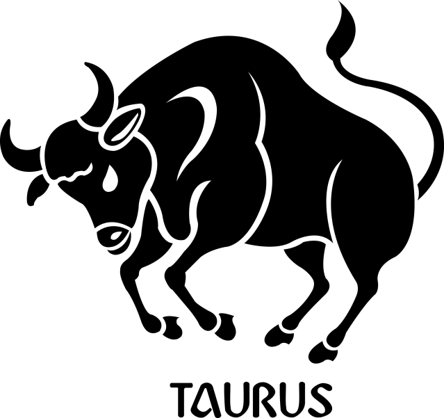 Taurus Zodiac Sign Symbol Premium Removable Wall Decal Signs 4