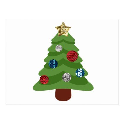 Emoji Christmas Tree Holiday Postcard Zazzle Com With Images Emoji Christmas Tree Christmas Tree Cards Emoji Christmas