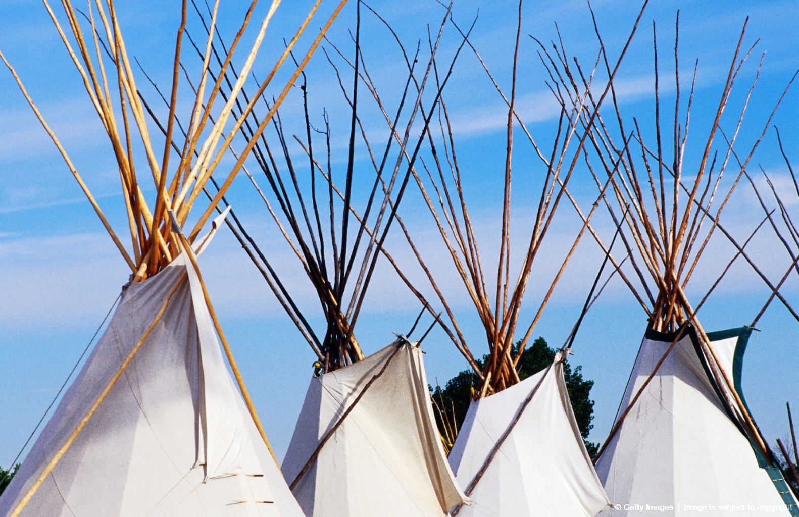 Native American Tipis Crow Style