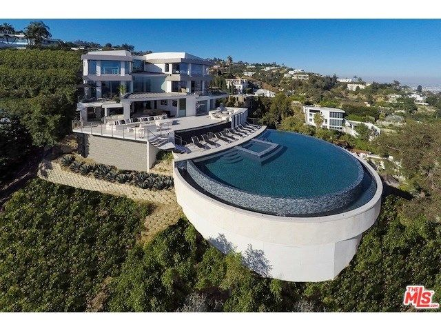 Pool with a view - and on a hillside!