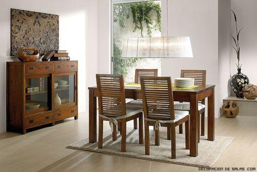 comedor-rustico | Diseño | Dining chairs, Dining room y Outdoor ...