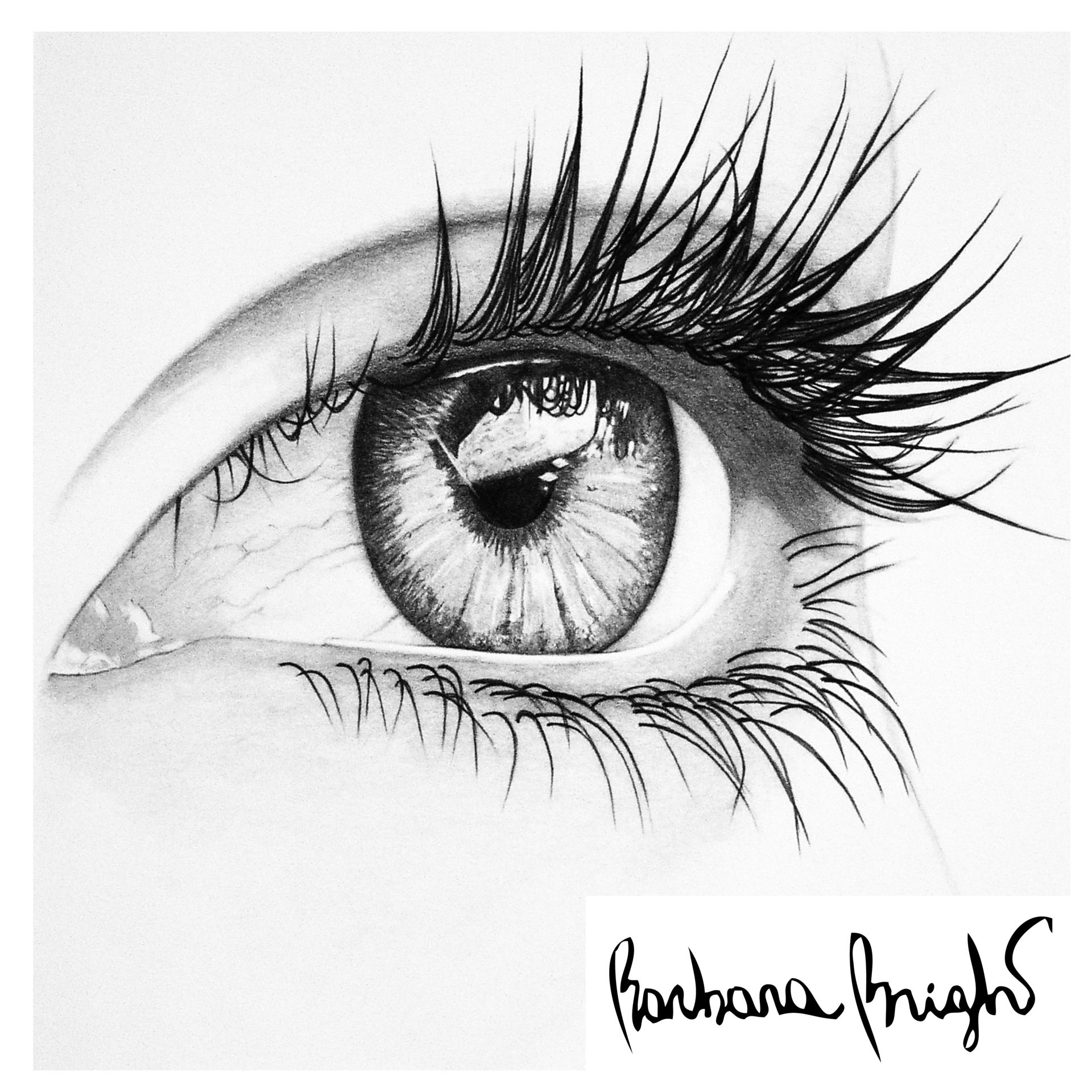 Simple Pencil Sketches Eye Great Drawing Realistic Drawings