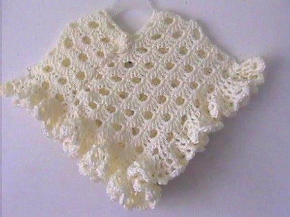 Sunny Dayz Girls Poncho Crochet Pattern Instant Download Girls