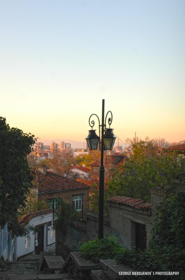 Sunrise over Plovdiv, Bulgaria