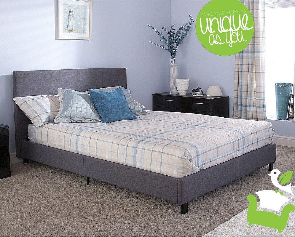 Fabric Bed in a Box Bedroom beds fabricbeds Box bed