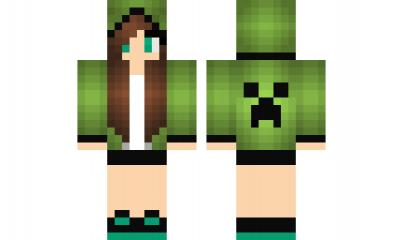 Adidas Girl Minecraft Skin