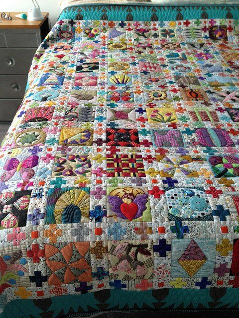 i need to make this! | Quilts, Sampler quilts, Beautiful quilts