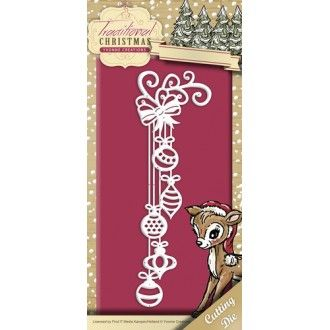 Stencil Die Yvonne Creations - Traditional Christmas - Christmas Decoration YCD10054