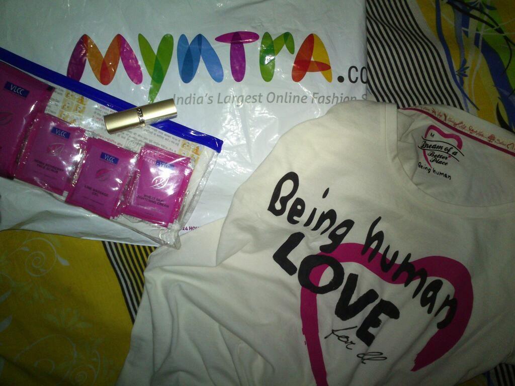 Twitter / richashah27793 Received my Myntra shipment