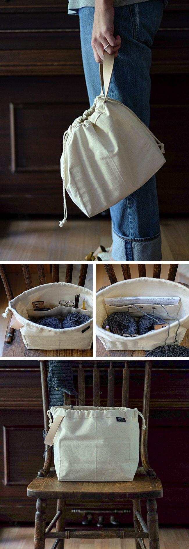 Stricktasche | Nähen stricktasche | Pinterest | Stricktaschen, Nähen ...