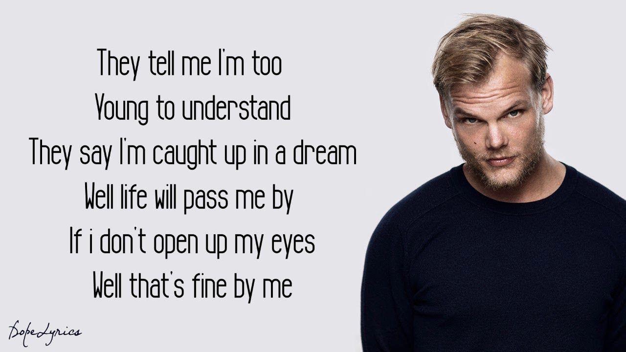 Avicii Wake Me Up Lyrics With Images Avicii Avicii Lyrics