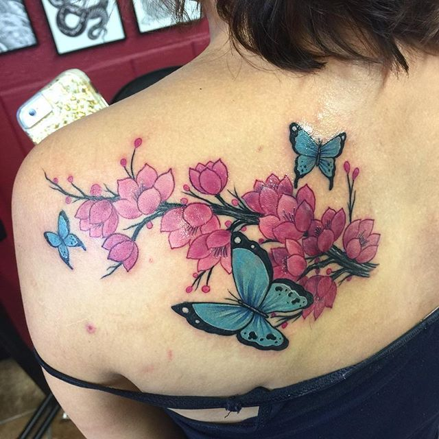 Butterfly Tattoo Tattoos Pinterest Tatuajes