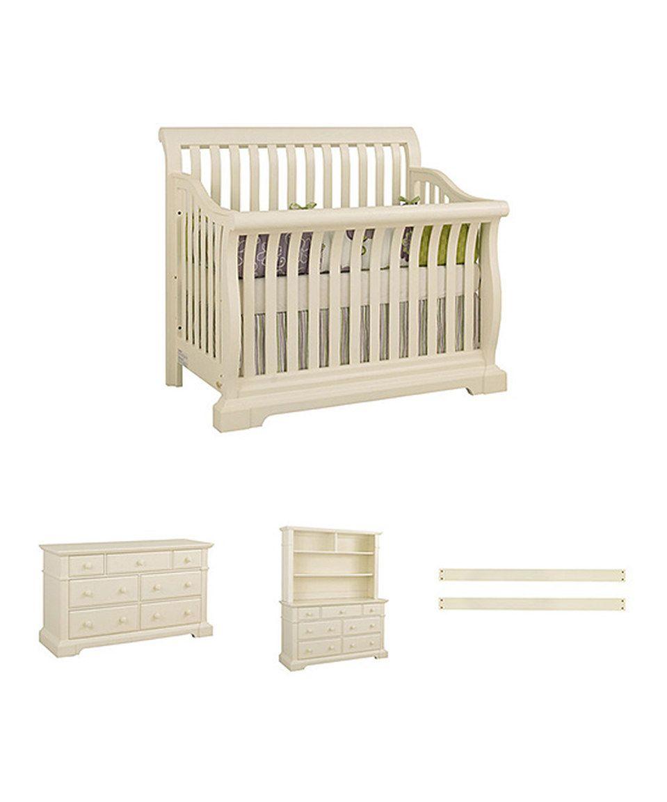 Look what I found on #zulily! Vanilla Sussex Crib, Dresser, Hutch ...